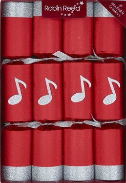 robin-reed-71689-30-cm-musical-chimes-christmas-crackers-pack-of-8