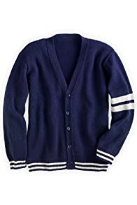 Green 3 Apparel Men's Recycled USA made Collegiate Cardigan