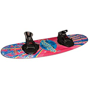 Buy Hydroslide Chics Rule Wakeboard Blank, Pink Blue Yellow by Nash