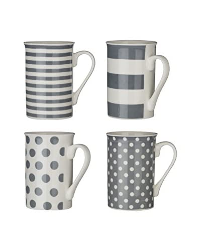 Premier Interiors Set Taza 4 Uds. 270 ml