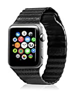 Unotec Correa Segment Apple Watch 42 mm Negro