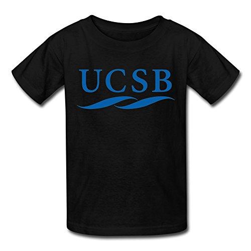Sfmy kid 39 s university of california santa ucsb logo t for T shirt printing santa barbara