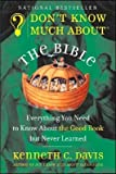 img - for Don't Know Much About the Bible (text only) by K. C. Davis book / textbook / text book