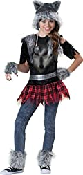Wear Wolf Tween Costume Black 10-12
