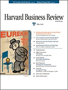 Harvard Business Review, May 2005 Periodical