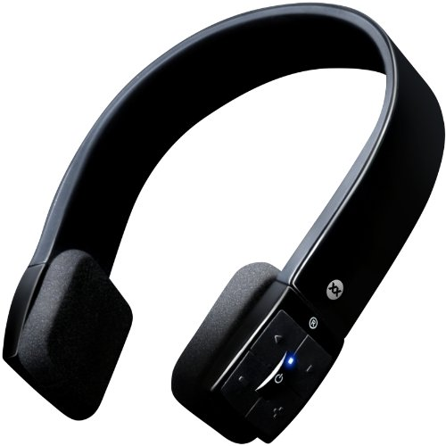 Sonixx X-Sport Wireless Bluetooth Headphones / Headset With Microphone And Remote For All Smartphones (Iphone / Ipad / Android / Windows / Samsung Galaxy / Htc Etc.) - 3 Year Warranty (Black)
