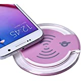 Galaxy S7/S7 Edge Wireless Charger, Lookatool Qi Wireless Charger Charging Pad For Samsung Galaxy S7/S7 Edge (Pink)