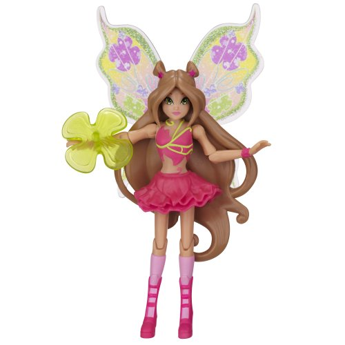 "Winx 3.75"" Action Dolls Believix Premiere - Flora - 1"