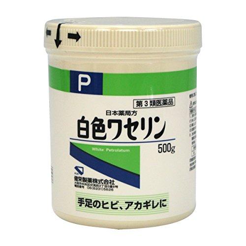 【第3類医薬品】日本薬局方 白色ワセリン 500g -