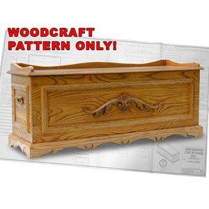 Hope Chest Woodcraft Plan Amz #881 front-84189