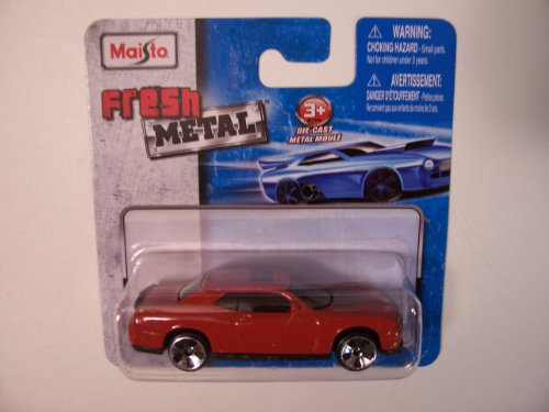 Maisto Fresh Metal Die-Cast Vehicles ~ 2008 Dodge Challenger SRT8 (Burnt Red/Orange
