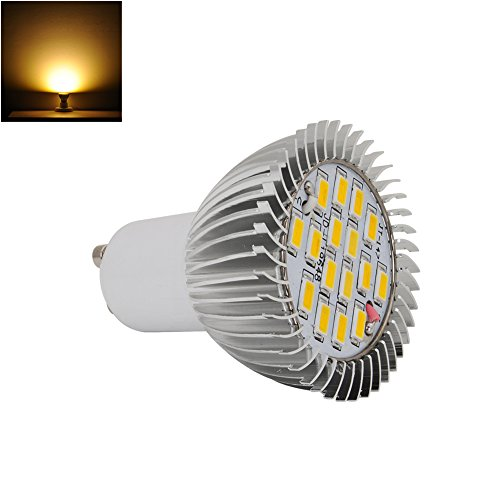 8W High Power Gu10 Led Light Ultra Bright Lamp Bulb 5630 Smd Warm White 230V
