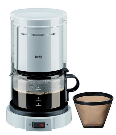 Braun KF12WH Aromaster 4-Cup Coffee Maker Best Coffee Maker Reviews