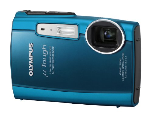 Olympus TOUGH-3000 Digital Camera - Turquoise Blue (12 MP, 3.6x Wide Optical Zoom) 2.7 inch LCD