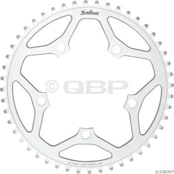 Salsa 42t 110mm 5-bolt Outer Chainring Silver