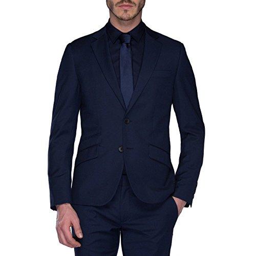 ANTONY MORATO - Giacca da uomo super slim fit mmja00211/fa600040 52 (xl) blu