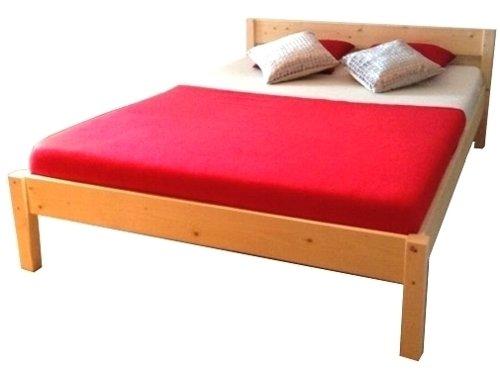 Bett Holz massiv mit Lattenrost Holzbett 90 100 120 140 160 180 200 x 200cm, hergestellt in BRD (140cm x 200cm)