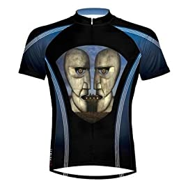 Primal Wear 2012 Men's Pink Floyd Division Bell Short Sleeve Cycling Jersey - PFD1J20M