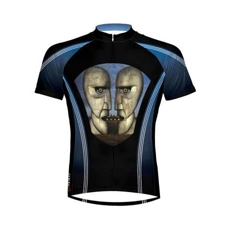 Primal Wear Men's Pink Floyd Division Bell Short Sleeve Cycling Jersey - PFD1J20M