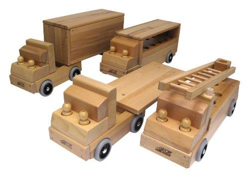 ECR4Kids Fire Truck Transportation Vehicle