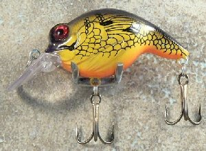 JLVLures Shallow Crankbait Perch : Diver Lures JLV Freshwater Smallmouth Steelhead Pike Salmon Trout Perch Whiper Mid Depth Walleye Casting Bass Hook Treble Bronze Boat Dock Brook Bay Little Stump River Trolling Weed Surface Topwater Shad