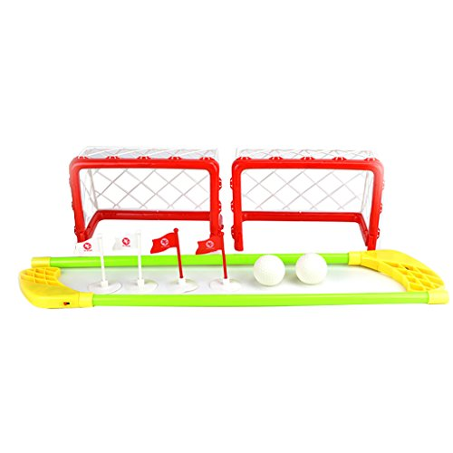 Mini-Set-de-Hockey-Sur-Gazon-Jouet-sport-Intrieur-Extrieur-Enfants