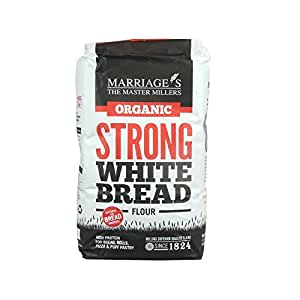 Marriage's - Organic Strong White Bread Flour - 1Kg