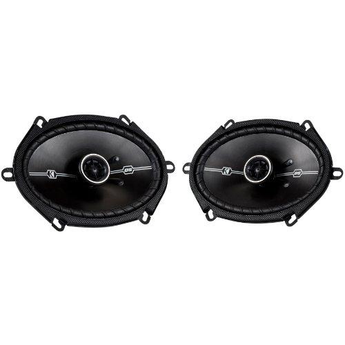 "Pair Kicker 41Dsc684 6X8"" D-Series 200 Watts Peak/50 Watts Rms 3-Way Car Speakers Dsc68 With Thin-Profile Woofers"