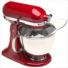 Artisan Series Tilt-Head Stand Mixer in Red