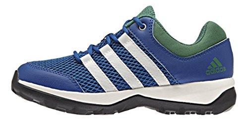 adidasDaroga Plus - Scarpe da trekking e da passeggiata Unisex - Bambini , Blu (Blau (Eqt Blue S16/Chalk White/Blanch Green S16-St)), 30
