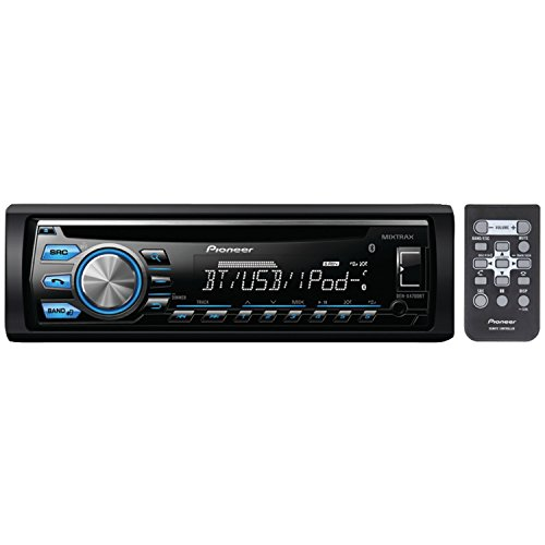 Pioneer DEH-X4700BT Single-Din In-Dash CD Receiver with Mixt
