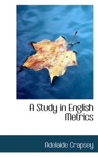 A Study in English Metrics