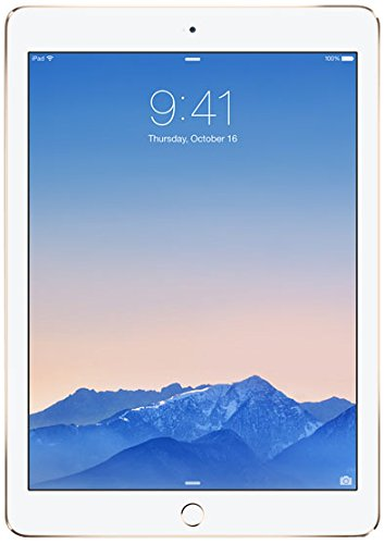 AIR2-64GB-Gold iPad Air 2 with 9.7″ Retina Display 64GB Wi-Fi Gold