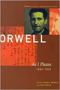 orwell essays amazon