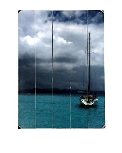 ArteHouse Stormy Skies Wood Wall Decor