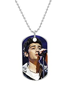 Amazon.com: One Direction Zayn Malik Custom OvaL Dog Tag (Large Size