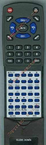 Denon Replacement Remote Control Ford70, Rc142, D120,