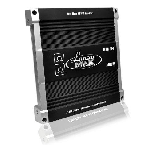 Lanzar Mxa104 Mxa 1600 Watt Mono-Block Mosfet Power Amplifier