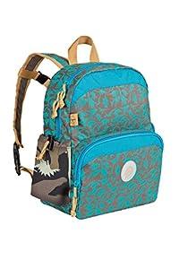Lässig Kinder-Rucksack  4kids Mini Backpack Mehrfarbig (Dino Slate) LMBP1118
