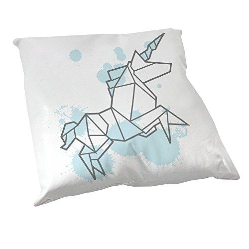 Coussin-Dcoration-Licorne-origami-bleu-pastel-Fabriqu-en-France-Chamalow-Shop