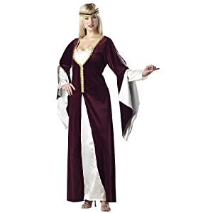 Medieval Regal Princess Plus Size Costume