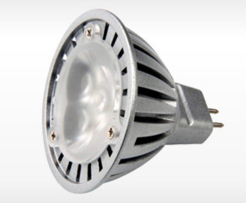 Wandafull 4 X Led Mr16 Spotlight 12V 3W 210 Lumen 3000K Warmwhite 30 Degree Beam Angle