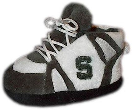 Comfy Feet NCAA Baby Slippers - Michigan State Spartans at Amazon.com