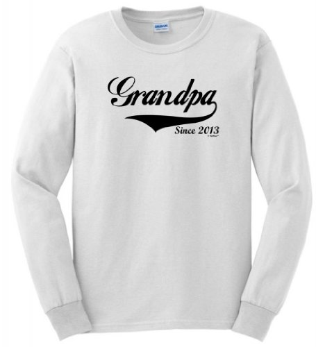 Grandpa Since 2013 Long Sleeve T-Shirt Xl White front-909239