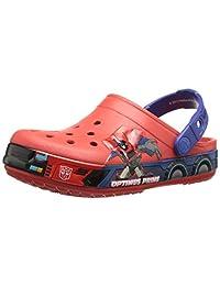 crocs Boys' CB Transformers Optimus Prime Clog