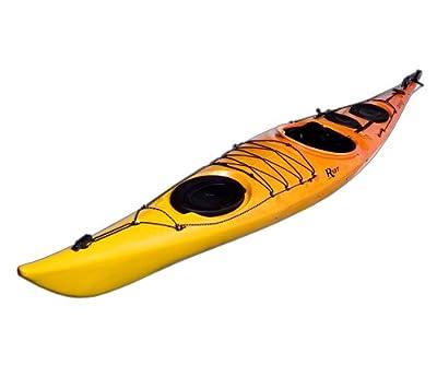 Brittany skeg/rudder Yellow/Orange Riot Kayaks 16.5ft Flatwater Touring Kayak