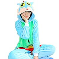 WOWcosplay Unisex All-In-One Pajamas Cosplay Costume Adult Sleepwear