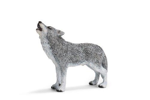 Schleich シュライヒ オオカミ (遠吠え)