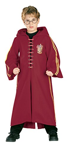 [Boys Harry Potter Quidditch Kids Child Fancy Dress Party Halloween Costume, L (12-14)] (Harry Potter Fancy Dress Costumes)