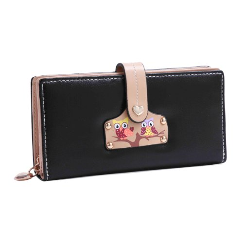 Damara Women Large Practical Wallet Snap Closure
